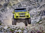 2017 Mercedes-Benz G550 4x4² (European spec)