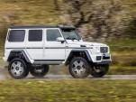 2017 Mercedes-Benz G550 4x4² (European spec)
