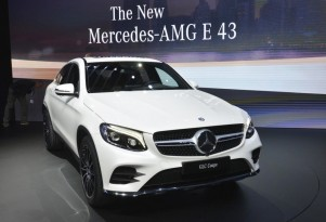 2017 Mercedes-Benz GLC Coupe, 2016 New York Auto Show