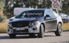 2017 Mercedes-AMG GLC43 Coupe spy shots