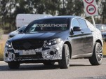 2017 Mercedes-Benz GLC43 Coupe spy shots - Image via S. Baldauf/SB-Medien