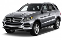 2017 Mercedes-Benz GLE GLE350 4MATIC SUV Angular Front Exterior View