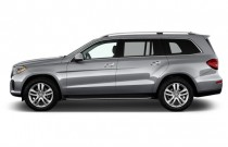 2017 Mercedes-Benz GLS GLS450 4MATIC SUV Side Exterior View