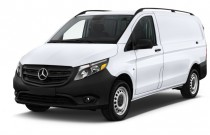 "2017 Mercedes-Benz Metris Cargo Van Standard Roof 126"" Wheelbase Angular Front Exterior View"