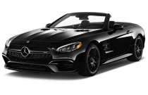 2017 Mercedes-Benz SL AMG SL 63 Roadster Angular Front Exterior View