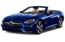 2017 Mercedes-Benz SL SL450 Roadster Angular Front Exterior View