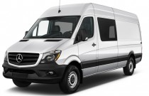 "2017 Mercedes-Benz Sprinter Crew Van 2500 High Roof V6 170"" RWD Angular Front Exterior View"