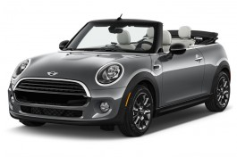 2017 MINI Convertible Cooper 2 Door Angular Front Exterior View
