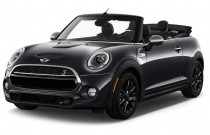 2017 MINI Convertible Cooper S 2 Door Angular Front Exterior View