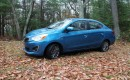 2017 Mitsubishi Mirage G4 SE, Catskill Mountains, NY, Nov 2016