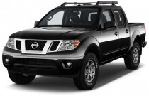 2017 Nissan Frontier Crew Cab 4x4 PRO-4X Auto Angular Front Exterior View