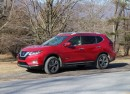 2017 Nissan Rogue Hybrid, Catskill Mountains, NY, Jan 2017