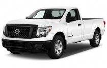 2017 Nissan Titan 4x2 Single Cab S Angular Front Exterior View