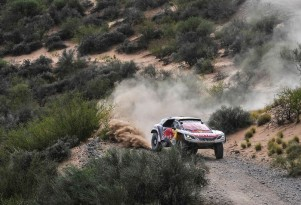 2017 Peugeot 3008 DKR in the Dakar rally