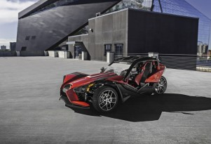 2017 Polaris Slingshot SLR with Slingshade