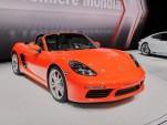 2017 Porsche 718 Boxster S, 2016 Geneva Motor Show