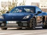 2017 Porsche 718 Cayman spy shots - Image via S. Baldauf/SB-Medien