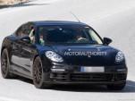 2017 Porsche Panamera S E-Hybrid spy shots - Image via S. Baldauf/SB-Medien