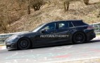 2017 Porsche Panamera Shooting Brake spy shots