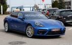 2017 Porsche Panamera spy shots and video