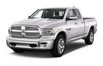"2017 Ram 1500 Laramie 4x2 Quad Cab 6'4"" Box Angular Front Exterior View"