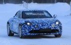2017 Renault Alpine A120 spy shots