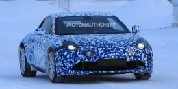 2017 Renault Alpine A120 spy shots - Image via S. Baldauf/SB-Medien