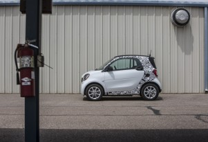 2017 Smart Fortwo Electric Drive prototype: first ride impressions