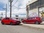 2017 Subaru Impreza vs. 2017 Honda Civic