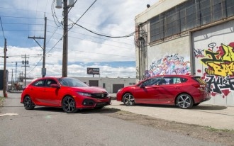 2017 Honda Civic Hatchback vs. 2017 Subaru Impreza 5-Door video compare