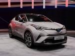 2017 Toyota C-HR (European spec), 2016 Geneva Motor Show
