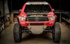 Toyota reveals Hilux Evo racing truck for 2017 Dakar rally