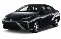 2017 Toyota Mirai Sedan Angular Front Exterior View