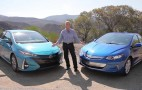 2017 Toyota Prius Prime vs 2017 Chevrolet Volt: plug-in hybrid video test