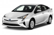 2017 Toyota Prius Two (Natl) Angular Front Exterior View