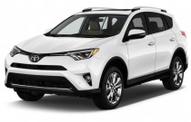 2017 Toyota RAV4 Limited AWD (Natl) Angular Front Exterior View