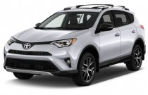 2017 Toyota RAV4 SE FWD (Natl) Angular Front Exterior View