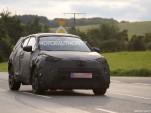 2017 Toyota subcompact crossover spy shots - Image via S. Baldauf/SB-Medien