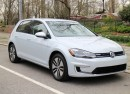 2017 Volkswagen e-Golf, first drive, New York City, April 2017