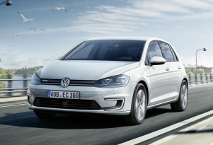 2017 VW e-Golf rated at 125 miles, tops 124-mile Hyundai Ioniq electric car