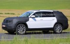 2017 Volkswagen 3-row SUV spy shots