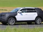 2017 Volkswagen 3-row SUV spy shots - Image via S. Baldauf/SB-Medien