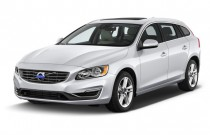 2017 Volvo V60 T5 FWD Angular Front Exterior View