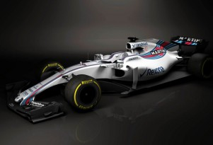 2017 Williams FW40 Formula One race car