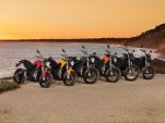 2017 Zero electric motorcycle lineup