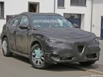 2018 Alfa Romeo Stelvio spy shots - Image via S. Baldauf/SB-Medien
