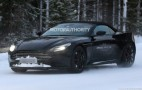 2018 Aston Martin DB11 Volante spy shots
