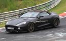 2018 Aston Martin Vanquish Zagato Volante spy shots - Image via S. Baldauf/SB-Medien