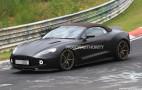 2018 Aston Martin Vanquish Zagato Volante spy shots
