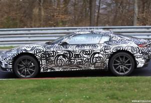 2018 Aston Martin Vantage spy shots - Image via S. Baldauf/SB-Medien